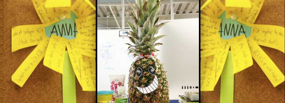 How to Say Thank you With a Pineapple
